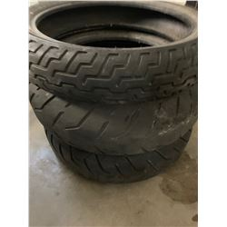 3 used Harley Davidson tires