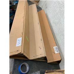 3 unused sets of chrome side mouldings for dodge trucks