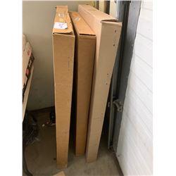 3 unused dodge chrome fender trim moulding kits