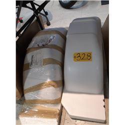 "PF11X35W Plastic Marine Fenders for 15"" wheels"