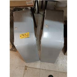 Two Flat Top Fenders - H&H 2699-0099A