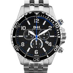 Brandt & Hoffman Men's chronograph, Swiss Made
