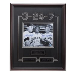Killebrew-Mays-Mantle Baseball Legends Signed GFA