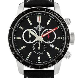 Zentler Freres Men's Swiss Made Chronograph Watch