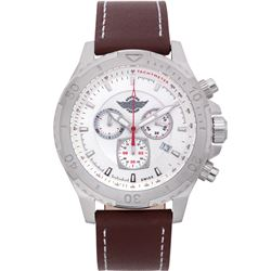 Zentler Freres Mens Swiss quartz chronograph watch