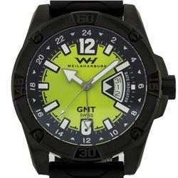 Weil & Harburg Leade Men's Swiss Made GMT Watch