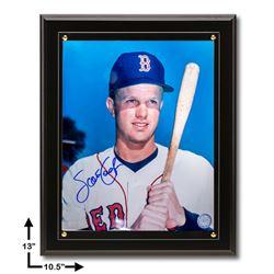 Scott Cooper Boston Red Sox Signed 8x10 Plaque GFA