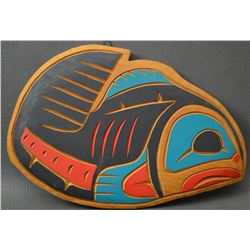 NORTHWEST COAST INDIAN WALL PLAQUE