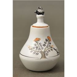 CHEMEHUEVI INDIAN POTTERY VASE (THERESA WILDFLOWER)