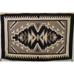 NAVAJO INDIAN TEXTILE (BESSIE MANYGOAT)