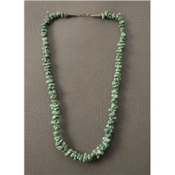PUEBLO INDIAN TURQUIOSSE NUGGET NECKLACE