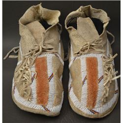 COMANCHE INDIAN MOCASINS