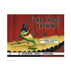 Warner Brothers Hologram One Froggy Evening
