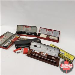 Tray Lot: 6 partial Gun Cleaning Kits