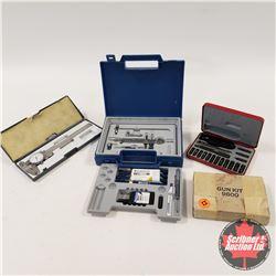 Gun Screwdriver Kit & Calipers & Drafting Set