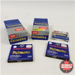 Variety of over 2000 Primers (Large Rifle & Small Pistol)