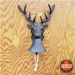 Cast Iron Door Knocker Deer