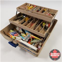 Old Pal Tackle Box w/Tackle