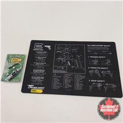 NEW SURPLUS: Fire Arms Safety Mat & Remington Bore Light