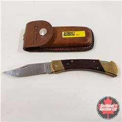 Frontier Lockblade Knife w/Belt Sheath