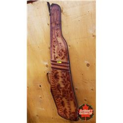 Soft Shell Gun Case (Leather with Deer Scene)