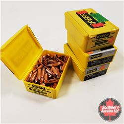 7mm Bullets (4 Boxes) (3 opened - mostly full & 1 unopened)