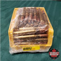 AMMO: Reloaded 30-06 Sprg (71 Rnds in Yellow Plastic Bin)