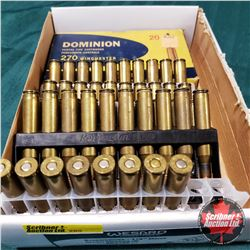 AMMO: Variety of 270Win (68Rnds)