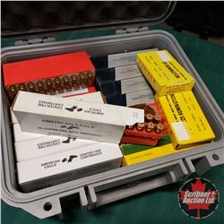 AMMO: .223Rem (350 Rnds) Variety Makes c/w Pelican Case