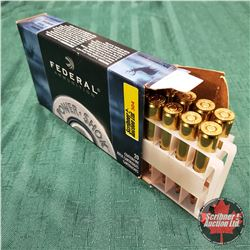 AMMO: Federal Power SHOK 7mm Mauser 140gr (1 Box : 20 Rnds/Box)