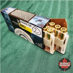 CHOICE of 2 - AMMO: Federal Power Shok .243 Win (20 Rnds)