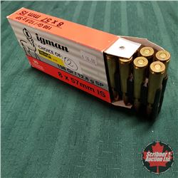 CHOICE of 2 - AMMO: Igman 8x57mm IS (20 Rnds)