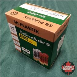 "CHOICE of 3 - AMMO: Sellier & Bellot SB Plastik 12ga 2-5/8"" (25 Rnds)"