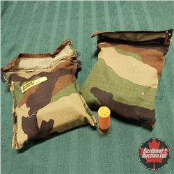 AMMO: 20ga Shotgun Shells w/Ammo Cloth Bags (50 Rnds)