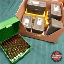 AMMO: .223 Rem Reloads (420 Rnds) w/8 Plastic Ammo Cases