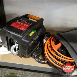 2000lbs Masterlock 12V Winch & Booster Cables