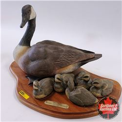 "Ducks Unlimited: Canada Goose Scene ""Secure"" Limited Edition : 441/750"