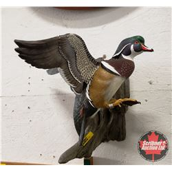 Ducks Unlimited: Flying Wood Duck Limited Edition : 180/800
