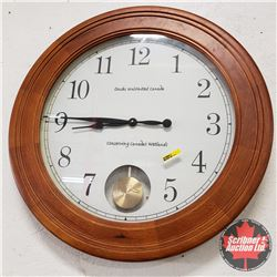 "Ducks Unlimited: Wall Clock - 25"" Dia"