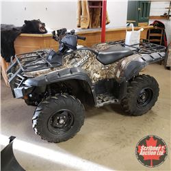 "2008 Yamaha Grizzly 700 FI ""Ducks Unlimited Edition"" 4x4 Power Steering w/Winch (2,166kms) S/N#JY4AM"