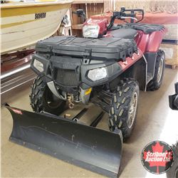 "2011 Polaris Sportsman 550 EFI 4x4 EPS Quad w/Winch & 50"" Blade"