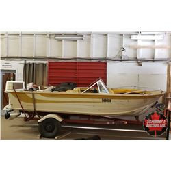Starcraft  Super Sport 16' Aluminum Boat w/100hp Johnson, Calkins Boat Trailer Hummingbird GPS...