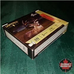 CHOICE of 5 - NEW SURPLUS AMMO: Lightfield Whitetails Unlimited 20ga 3  (1 Box - 5 Rnds/Box)