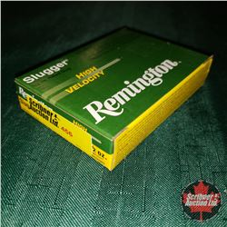 "CHOICE of 3 - NEW SURPLUS AMMO: Remington Slugger 20ga 2-3/4"" (1 Box - 5 Rnds/Box)"