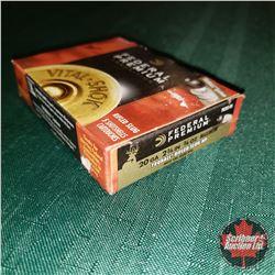 CHOICE of 3 - NEW SURPLUS AMMO: Federal Premium Vital Shok 20ga 2-3/4  Rifled Slug (1 Box - 5 Rnds/B