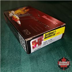 CHOICE of 3 - NEW SURPLUS AMMO: Hornady Superformance .308 Win (1 Box - 20 Rnds/Box)