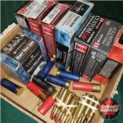 Variety AMMO:  Rifle Rounds (74) & Shotshells (18)