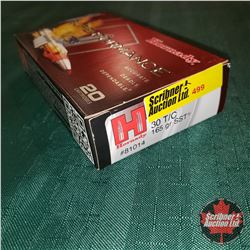 CHOICE of 8 - NEW SURPLUS AMMO: Hornady Superformance 30T/C (1 Box - 20 Rnds/Box)