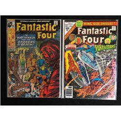FANTASTIC FOUR COMIC BOOK LOT #96/ #12 (MARVEL COMICS)