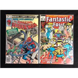 COMIC BOOK LOT (THE AMAZING SPIDER-MAN #13/ FANTASTIC #104)